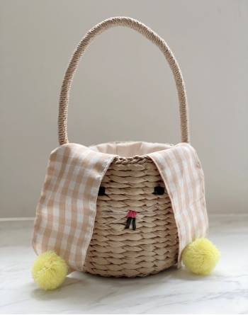 Mr Ollie Bunny Basket