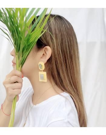Nefertiti Drop Earrings