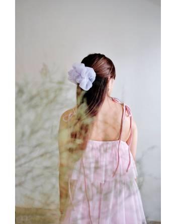 Pénélope Oversized Scrunchie (Lovely Lilac)