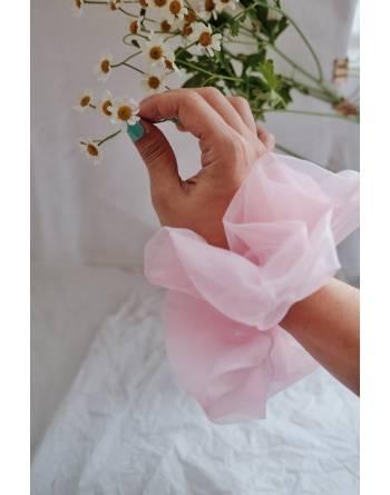 Pénélope Oversized Scrunchie (Dusty Pink)