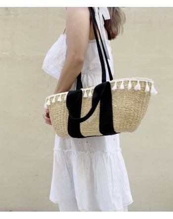 Carly Woven Rattan Basket