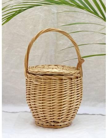 1970s Mini Birkin Basket